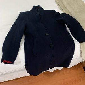 Zara Man Lapel Coat
